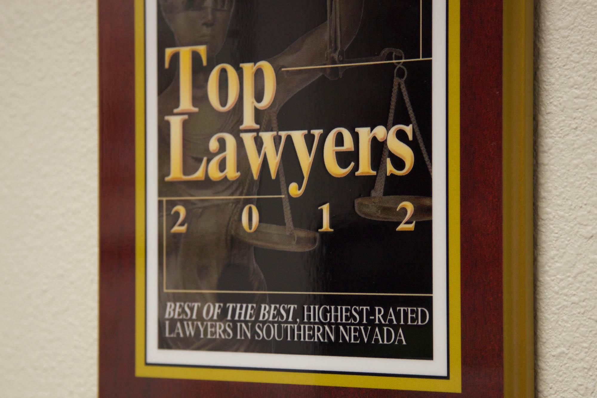 Top Lawyer in Las Vegas