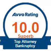 Top Attorney Bankruptcy Avvo Rating 10.0 Superb